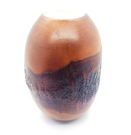 Mango Bark Pillar Candle Holder