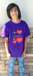 I am Loved as LOVE is Who I AM Youth Shirt