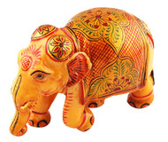 Infused Painted Elephant Figurine