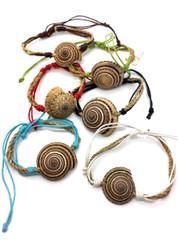 Earth Spiral Bracelet