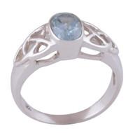 Infused Celtic Gemstone Ring