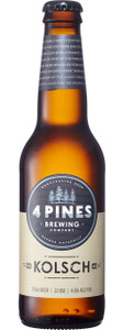 4 Pines Brewing Company Kolsch 330ml Bottles