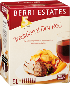 Berri Traditional Dry Red 5lt Cask