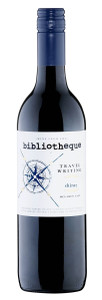 Bibliotheque Travel Writing McLaren Vale Shiraz 750ml