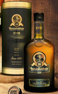 Bunnahabhain 18 Year Old Malt Whisky 700ml