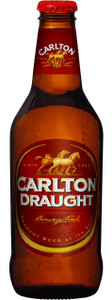 Carlton Draught 375ml Stubbies