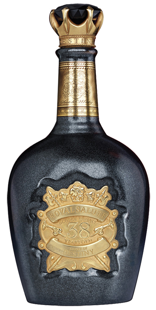 chivas regal royal salute stone of destiny 38 year old