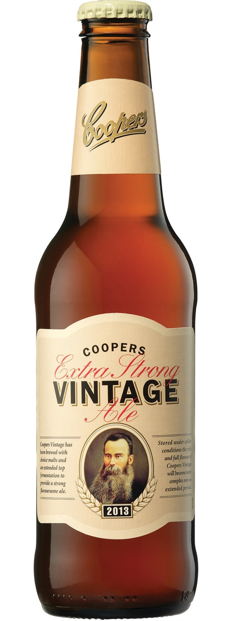 vintage strong ale extra Coopers