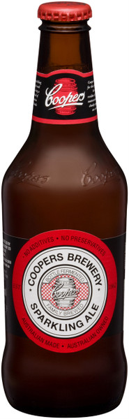 Coopers sparkling ale 24 x 375ml bottles for Coopers craft bourbon review
