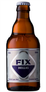 Fix Hellas Premium Greek Lager 20 x 330ml Bottles