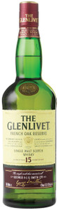 Glenlivet 15 Year Old French Oak Malt Whisky 700ml