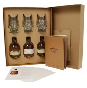 Glenrothes Scotch Whisky 'Secret Boxes' 3 x 100ml bottles beautifully Gift Boxed