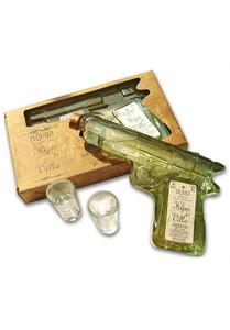 Hijos De Villa Reposado Tequila Pistol Bottle 200ml with 2 shot glasses