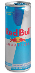 Red Bull Sugar Free Energy Drink 24 x 250ml Cans
