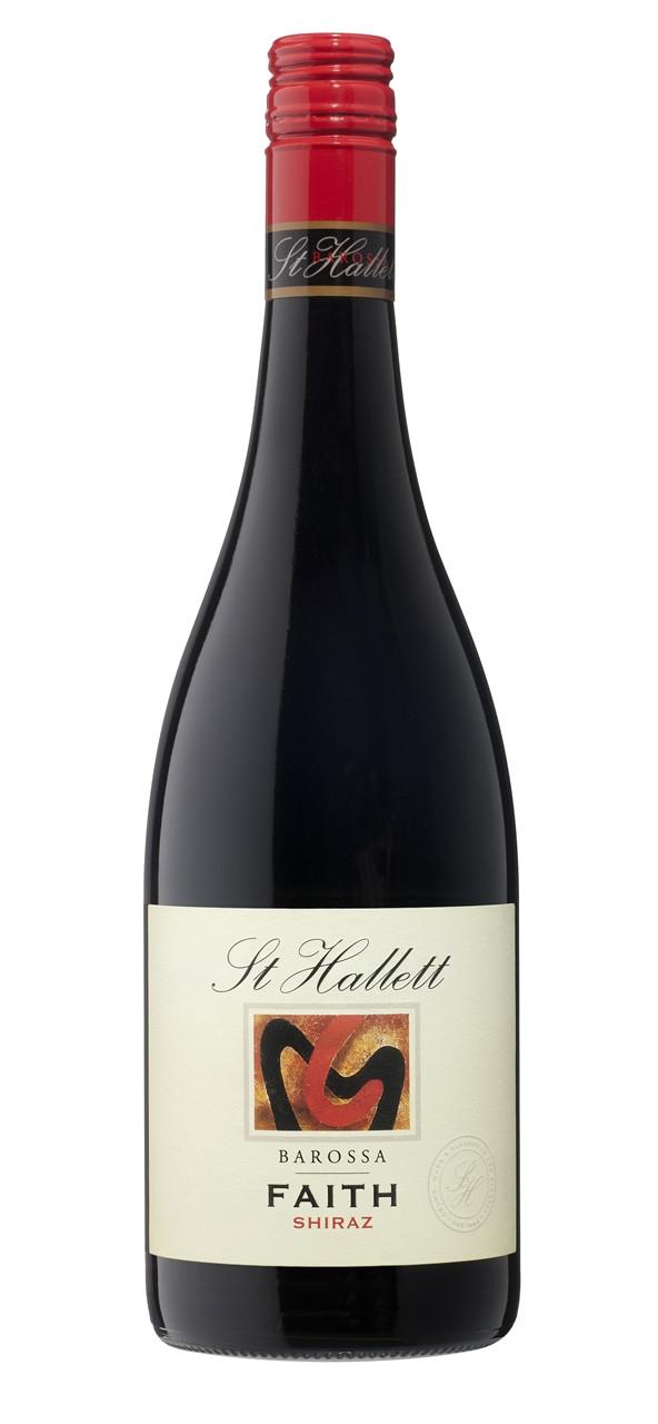St hallett faith barossa valley shiraz 750ml ourcellar for Purple wine bottles for sale
