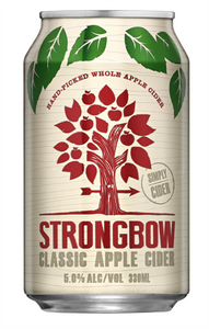 Strongbow Classic Apple Cider 30 x 330ml Cans