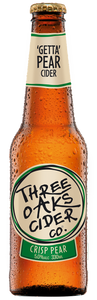 Three Oaks Crisp Pear Cider 24 x 330ml Bottles