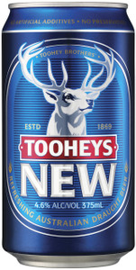 Tooheys New 30 Pack 375ml Cans