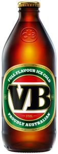 Victoria Bitter 24 x 375ml Stubbies