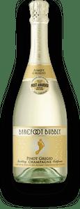 Barefoot California Bubbly Pinot Grigio 750ml