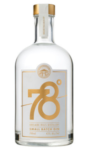 Adelaide Hills Distillery 78 Degrees Small Batch Gin 700ml