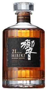 Hibiki  Malt 21 Year Old Japanese Whisky Blend 700ml (Rare)