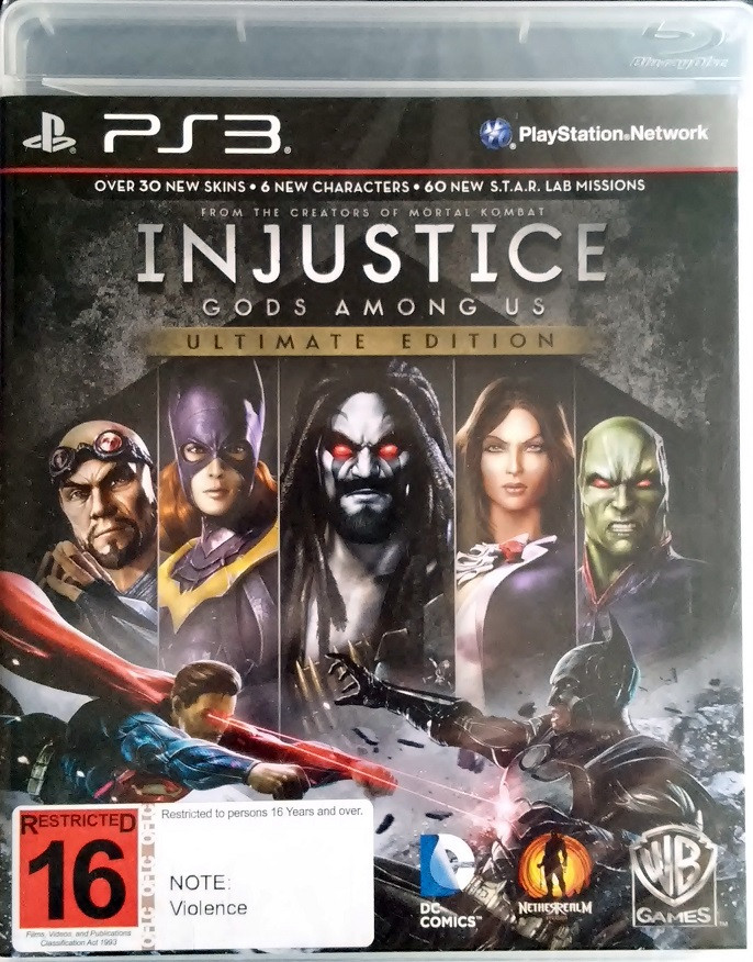 Injustice: Gods Among Us Ultimate Edition (PS3) - First Games