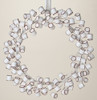 "20"" Sweet Memories Decorative Christmas Marshmallow Wreath 20"" - Unlit - 28884910"