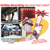 The Window Wonder for Damage-Free Christmas Light Displays - 4 Rod Set - 5518661