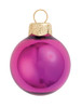"""12ct Shiny Soft Rose Pink Glass Ball Christmas Ornaments 2.75"""" (70mm) - 30939706"""