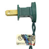"""Set of 10 Clear Mini Christmas Lights 10"""" Spacing - Green Wire - 32264401"""