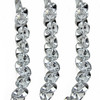 4' Ice Palace Silver Faux Diamond Crystal Christmas Garland - Unlit - 30852093