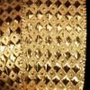 "Woven Diamond Gold Lamé Wired Craft Ribbon 1.5"" x 54 Yards - 31388461"