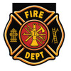 "Club Pack of 48 Fire Watch ""Fire Dept"" Badge Notepad Party Favors - 31381592"