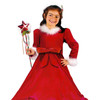 4-Piece Girl's Christmas Princess Costume Size 24M-2T - 5701182
