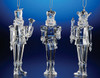 """Club Pack of 12 Icy Crystal Decorative Christmas Nutcracker Ornaments 5.5"""" - 31002145"""