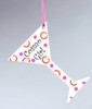 """Happy Hour Porcelain """"Cosmo Girl"""" Cocktail Glass Christmas Ornament 3.75"""" - 11145768"""