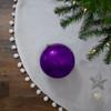 "Shatterproof Shiny Light Magenta Pink Christmas Ball Ornament 6"" (150mm) - 31755191"
