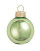 "8ct Shiny Lime Green Glass Ball Christmas Ornaments 3.25"" (80mm) - 30939771"