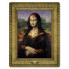 "Club Pack of 12 ""Moaning Lisa"" Masterpiece Cutout Halloween Decorations 23"" - 31559779"