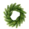 "12"" Two-Tone Mini Frasier Fir Artificial Christmas Wreath - Unlit - 31521400"