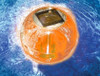 """5"""" HydroTools Swimming Pool or Spa Amber Floating Ball Solar Light - 30925157"""