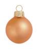 "6ct Matte Burnt Orange Glass Ball Christmas Ornaments 4"" (100mm) - 30939893"
