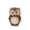 """10"""" Tree Bark Inspired Horned Owl Outdoor Patio Garden Statue - 32229672"""