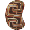 6' x 9' Eternal Apollo Contemporary Multi-Colored Kidney Wool Area Throw Rug - 28457627