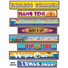 "Club Pack of 48 Multi-Colored Tropical Luau Themed Surfer Street Sign Cutout Decoration 24"" - 31564316"
