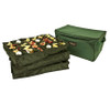 3-Tray Fabric Lined Christmas Ornament Storage Bag - Holds 72 Ornaments - 11206740