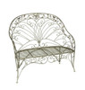 "48"" Decorative Garden Vineyard Weathered Finish Outdoor Patio Loveseat Bench - 31352525"