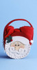 """8"""" Santa Claus Basket Pouch Filled with Christmas Red Guest Hand Towels - 21377970"""
