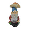 """10"""" High Tech Gnome with Tablet Solar Powered LED Lighted Outdoor Patio Garden Statue - 32229668"""